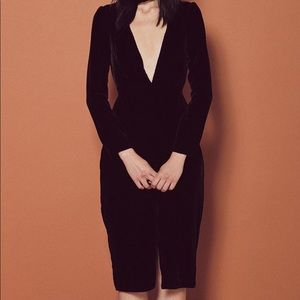 🍋 For Love & Lemons Collette Midi Dress